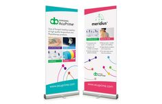 Pull up banners - a very cost effective way of selling your business at a show or event