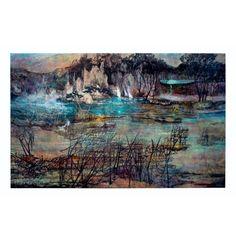 New Formed Land – Railway Str. Studios Landing, Resin, Studios, Artwork, Nature, Work Of Art, Naturaleza, Natural, Scenery