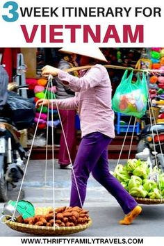 Are you planning a long trip to Vietnam? We have an awesome 3 week Vietnam itinerary for slow travelers or families. We focused on a few cities in Vietnam so we could really get a feel for them and have time to explore. Come check out our Vietnam travel g