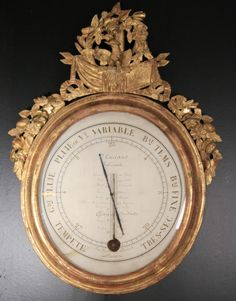 A 19th century barometer signed by the famous maker Carcano and dated 1830 #barometer #antique