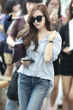 Jessica <3 140802 @ Incheon Airport to Hong Kong