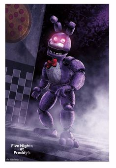 FIVE NIGHTS AT FREDDY'S CLASSIC BONNIE POSTER #FIVENIGHTSATFREDDYSCLASSICBONNIEPOSTER