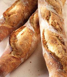 """Het lekkerste recept voor """"Echte Franse baguette"""" vind je bij njam! Ontdek nu meer dan duizenden smakelijke njam!-recepten voor alledaags kookplezier!"""