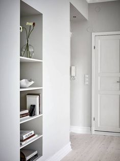 my scandinavian home: A Soothing White and Caramel Swedish home