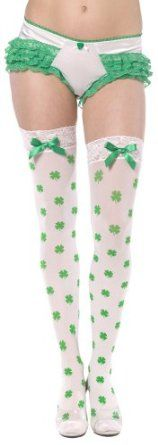 Thigh High Shamrock Stockings: Price:	$11.04