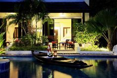 Gorgeous Phuket resort.  Possibility. Phuket Resorts, Hotels And Resorts, Karon Beach, Luxury Accommodation, Honeymoon Destinations, Places To See, Thailand, Villa, Boat