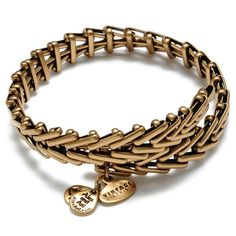 Create your own style with Vintage 66's signature chain bracelet. Each bracelet is adjustable for the perfect fit.  Available in Russian Gold and Russian Silver. Dress up or down, layer, or wear alone for a customized look.