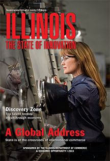 ILLINOIS The State of Innovation - online magazine: With its $ 670 billion economy, Illinois is an international center of global commerce. The state has leveraged its world-class transportation and logistics infrastructure, major research and higher education assets, and legacy of innovation to create a dynamic and growing economy with major segments that include advanced manufacturing, life sciences, clean energy, banking and finance, and information technology.
