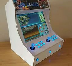 Bartop Arcade Machine 2 Player White