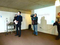 George Clarke speaking at Leeds Empties Week 2012