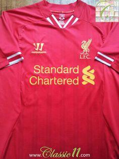 a3ca13d96 2013 14 Liverpool Home Premier League Football Shirt (L)