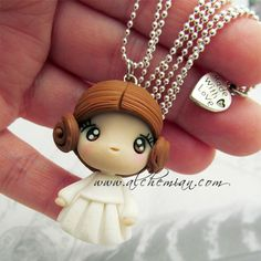 Princess Leia  star wars inspired necklace by AlchemianShop, €25.00