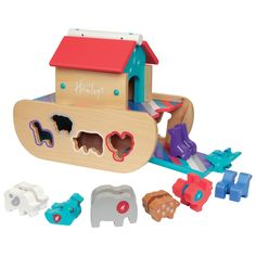 Hamleys Wooden Noahs Ark