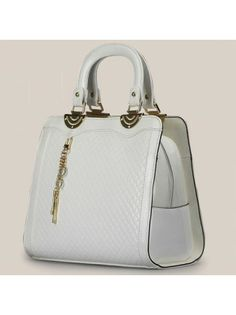 Patent Leather Fashion Structure Bag