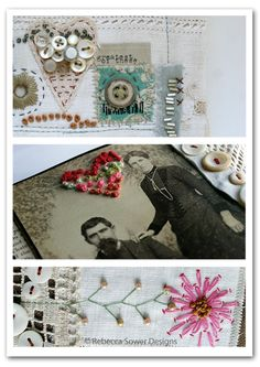 Rebecca Sower: { three on thursday } french knots