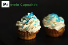 Vanilla Caramel Protein Cupcakes  a Tribute to Breaking Bad