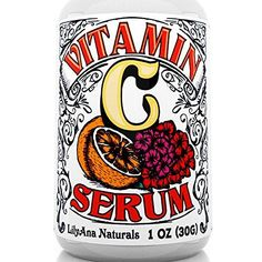 Vitamin C Serum with Hyaluronic Acid for Face and Eyes - Organic Skin Care with .Vitamin C Serum with Hyaluronic Acid for Face and Eyes - Organic Skin Care with Natural Ingredients for Acne, Anti Wrinkle, Anti Aging, Fades Age Spots and Sun Da Best Vitamin C, Natural Vitamin C, Anti Aging Serum, Anti Aging Skin Care, Hyaluronic Acid For Face, Retinol Cream, Thing 1, Acne Prone Skin, Oily Skin