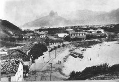 Praia da Igrejinha. Copacabana . 1908