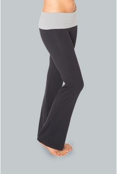 Wide Leg Yoga Pant with Banded Waist