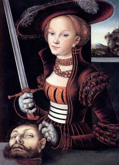 Judith Victorious, Lucas Cranach the Elder ca. 1530