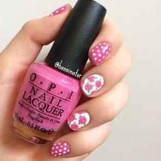 Roses and polka dots!