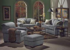 Main Street Stationary Living Room Group by Flexsteel