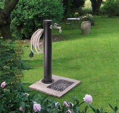 Results images for modern garden fountains Backyard Projects, Outdoor Projects, Backyard Patio, Garden Projects, Garden Sink, Water Garden, Diy Jardim, Garden Hose Holder, Garden Fountains
