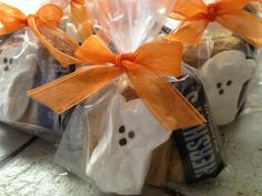 S'mores Halloween treat bags