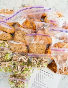 The Art and Craft of Frozen Dinner Kits — Freezer Friendly from Jessica Fisher | The Kitchn