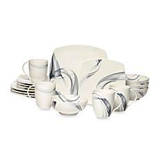 image of Mikasa® Kya Smoke 16-Piece Dinnerware Set