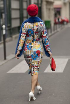 Best Street Style Paris Fashion Week Spring 2014 | Pictures #streetstyle #fashion #chic #pfw #ss15