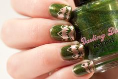 May contain traces of polish: Green Mountain Nails