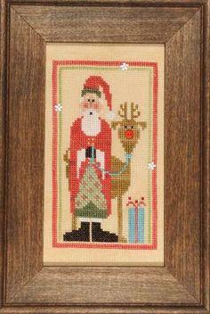Heart in Hand Needleart - Wee Santa 2013 - Cross Stitch Pattern