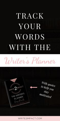 Break through writer's block and find writing inspiration with The Writer's Planner. Use this writing planner to get your book planned our and written quickly with the added bonus of quotes to help keep you motivated and journal questions to reflect on your progress.  #writingplanner #writersplanner #writingmotivation #writinginspiration