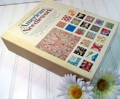 Vintage Patterns & Book of American Needlework  by DivineOrders, $17.00
