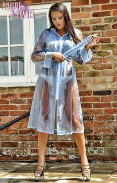 Pvc Raincoat, Plastic Raincoat, Plastic Pants, Girls Wear, Women Wear, Plastic Mac, Pvc Vinyl, Rain Wear, Rain Jacket