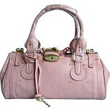 $289.00 Chloe Paddington Satchel Bag Pink