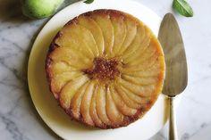 polenta Pear Upside-Down Cake / Photo by Hirscheimer & Hamilton