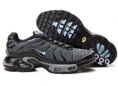 low priced 0e02f 70882 Danmark Billige Nike Air Max Tn Trainers Mænd - BlackGreyBlue