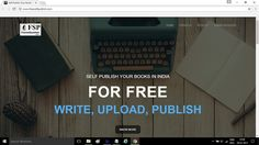 Free #SelfPublishing Company Website Launched in India