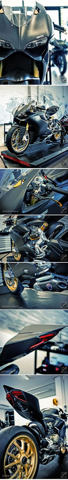 Ducati 1199 Full Carbon   #special #motorcycle by WRS evotech / Italy -    @Ivan Cherevko Giorgetti
