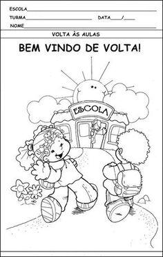 ATIVIDADES DE VOLTA AS AULAS 2º SEMESTRE.   Cantinho do Educador Infantil