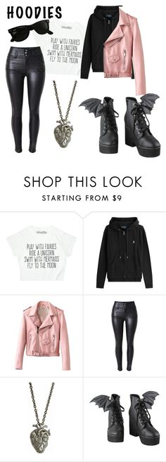 """""""Hoodies for Halloween"""" by randomrainbowbitch on Polyvore featuring Polo Ralph Lauren, Iron Fist and Ray-Ban"""