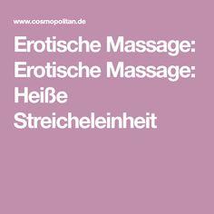 Erotische Massage: Erotische Massage: Heiße Streicheleinheit