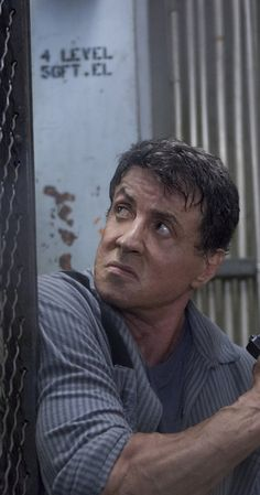 SYLVESTER STALLONE IN ESCAPE PLAN Sylvester Stallone, Celebrity Couples, Celebrity Photos, Punisher Marvel, Wolverine, 18 Movies, Escape Plan, Rocky Balboa, The Expendables