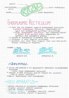 eat, sleep and study — here are some AS biology notes I made yesterday on...