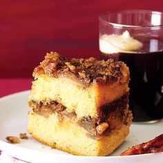 """Upside down sour cream cake.  Recipe calls for an actual vanilla bean and """"syrup from rum-soaked pears.""""  I will be replacing that with vanilla extract and fruit infused vodka!"""