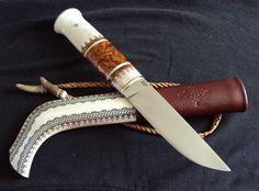 Saami knife by Igor Barutkin
