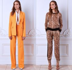 Rachel Roy 2014 Spring Womens Presentation - New York Fashion Week - Pair of Wings One Piece Jumpsuit Romper ShirtDress White Denim Jeans 3D...