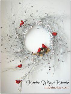 Wispy Winter Wreath